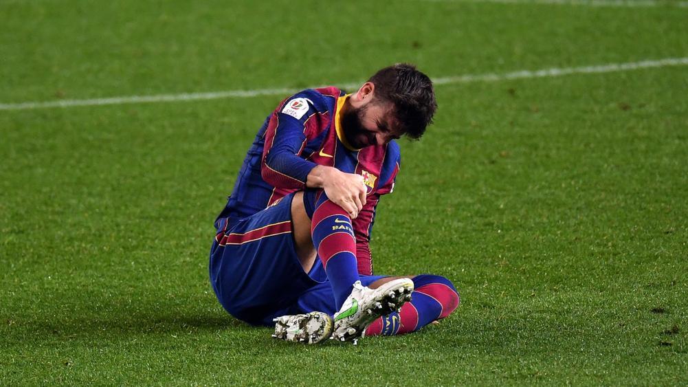 Barcelonada Gerard Pique'nin sakatlığı ciddi