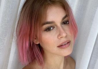 Kaia Gerber saç rengini tekrar değiştirdi
