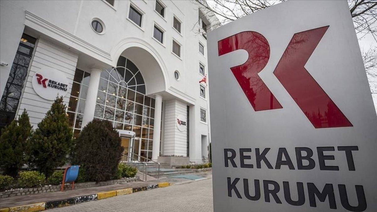 Rekabet Kurulu geçen yıl 2.2 milyar lira idari para cezası verdi #1