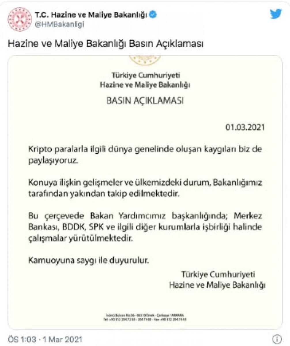 Türkiye de Bitcoin almak yasal mı? Hazine ve Maliye Bakanlığı Bitcoin açıklaması.. #1